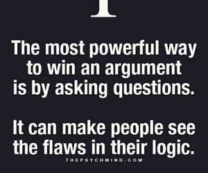 argument, win, and facts image