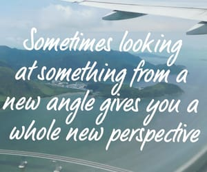 airplane, holiday, and quote image