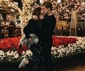 couple, Relationship, and christmas image