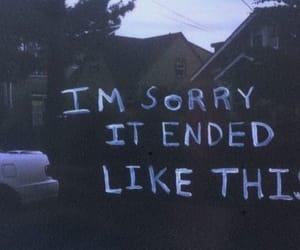 sorry, grunge, and sad image