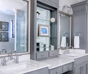 bathroom, details, and white image