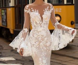 wedding dress and white image