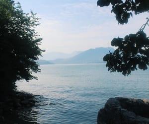 beautiful, Bleu, and paysage image
