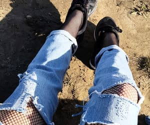 aesthetic, boyfriend jeans, and style image