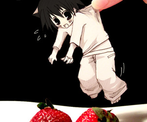 L, death note, and cute image