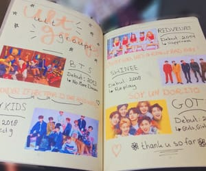 kpop, bts, and bullet journal image