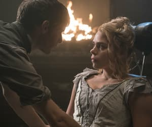 billie piper, victor frankenstein, and harry treadaway image