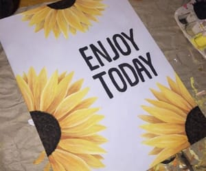 art, pretty, and sunflower image