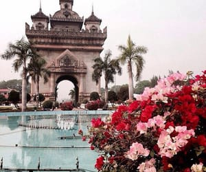 architecture, flower, and palace image