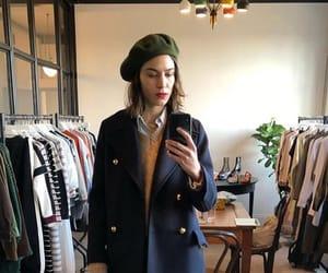 alexa chung, outfit, and british image