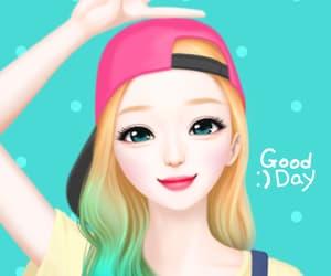 art girl, illustration, and mellow j image