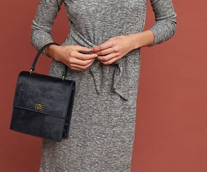 anthropologie, classic bag kelly box bag, and turtleneck sweater dres image