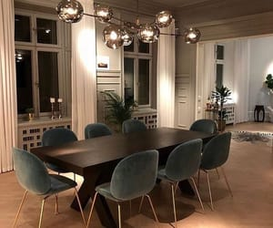 design, dining room, and house image