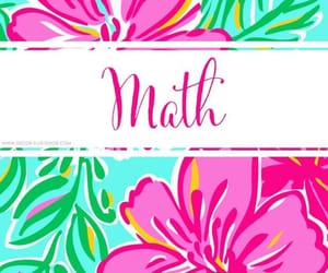 flores, flowers, and math image