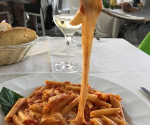 food, pasta, and restaurant image