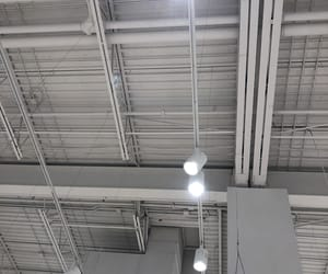 aesthetic, gray, and ceiling image