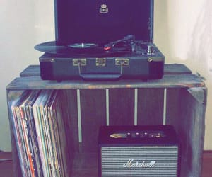 home, interior, and vinyl image