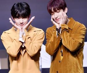 DK, Seventeen, and jisoo image