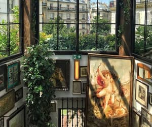 art, plants, and aesthetic image