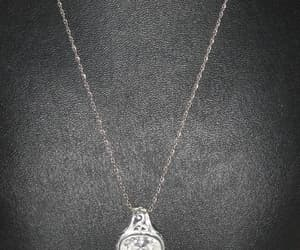 etsy, pendant necklace, and crystal pendant image