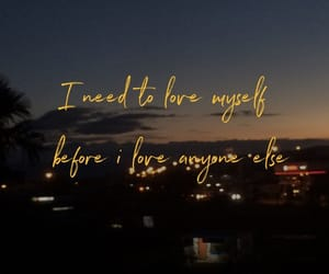 quotes, love myself, and love image