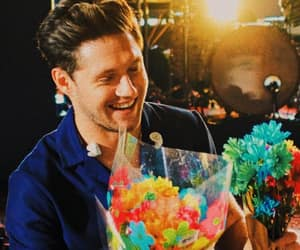 flowers, smile, and niall horan image