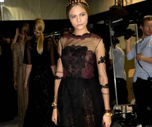 backstage, ready to wear, and Valentino image