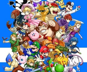 donkey kong, super smash bros, and game watch image