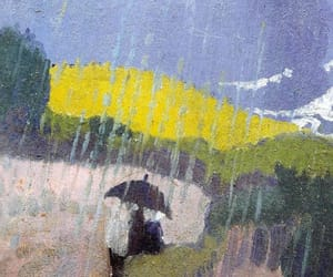 art, post-impressionism, and rain image