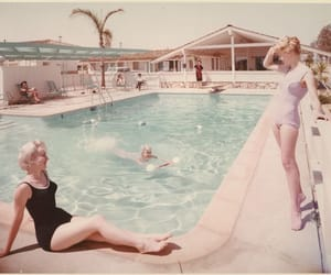 50s, hotel, and vintage image