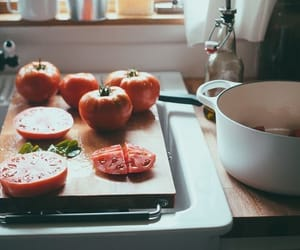 cooking, tomatoes, and vintage image