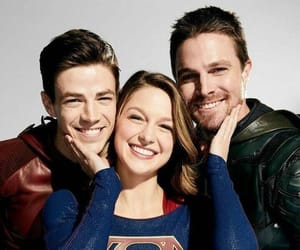 arrow, Supergirl, and the flash image