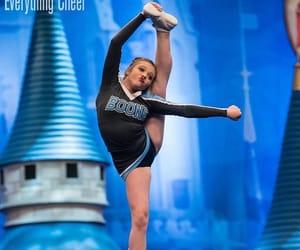 cheerleader, flexibility, and girl image