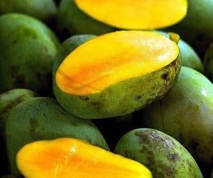 fruit, healthy, and mango image