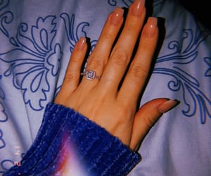 engaged, nails, and pandora image