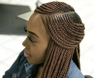 braids, hair, and hair styles image