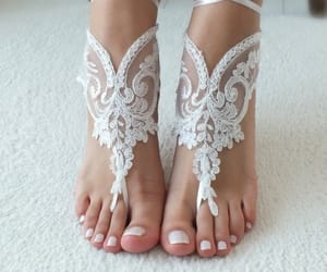 bride, etsy, and wedding shoes image