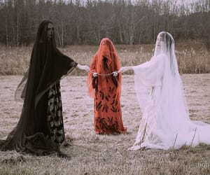 aesthetic, Halloween, and witch image