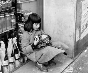 cat, child, and homeless image