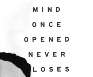 quote, mind, and text image