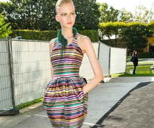 backstage, chic, and fashion image