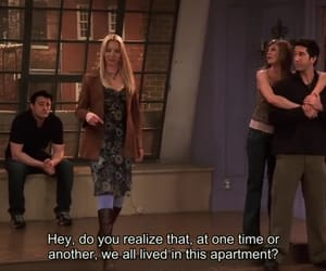joey tribbiani, rachel green, and ross geller image