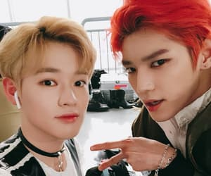 kpop, lee taeyong, and chenle image