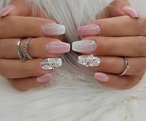 nails, girls, and pink image