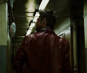 brad pitt, cinematography, and fight club image