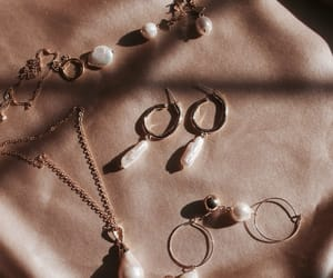 jewelry, earrings, and necklace image