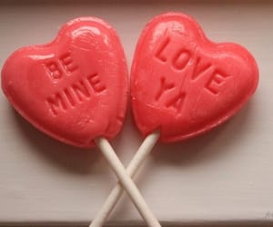 love, sweet, and lollipop image