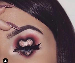eyebrow, heart, and tutorial image