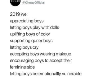 boys, change, and equality image