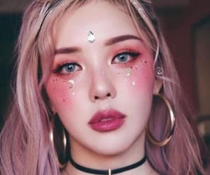 makeup, aesthetic, and korean image
